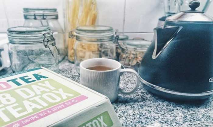 La desintoxicación de Té de la dieta de losrequisitos, losresultados son comosigue: